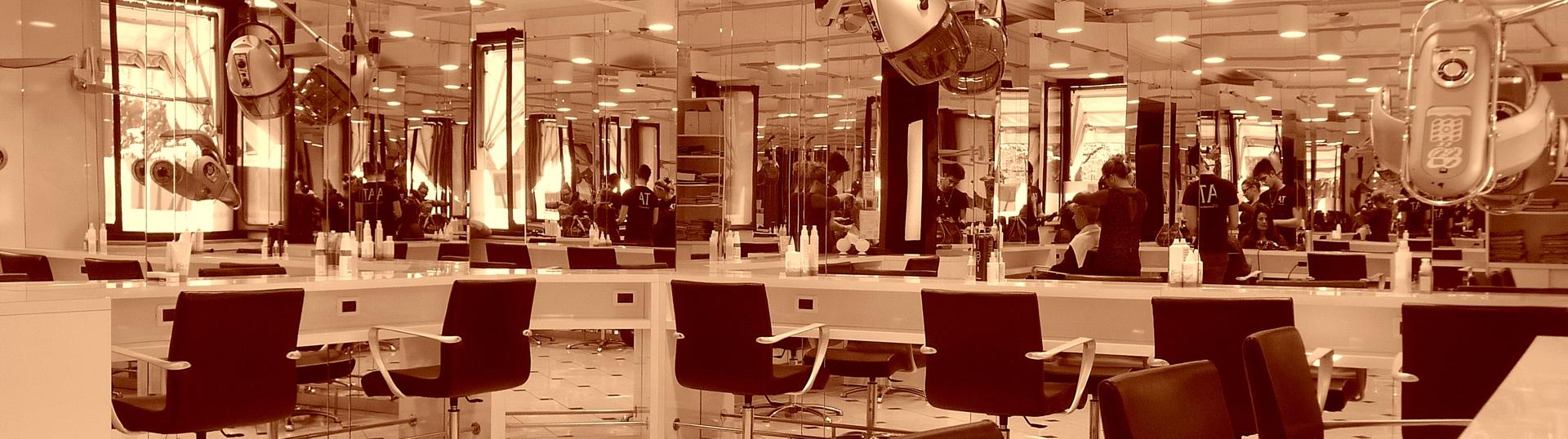Salone per corsi parrucchieri a Torino